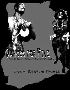 Dances for Five Cover Design